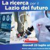 La ricerca per il Lazio del futuro