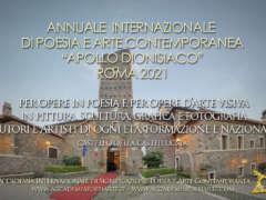 Annuale Internazionale Apollo dionisiaco Roma 2021