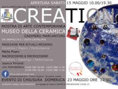 CREATION mostra di Arte Contemporanea itinerante V Tappa