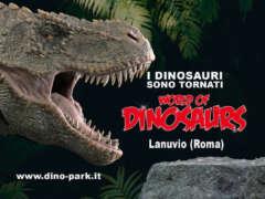I dinosauri sono tornati! La mostra World Of Dinosaurs di Lanuvio