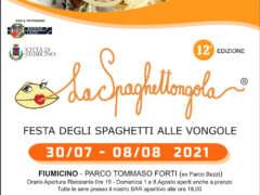 Spaghettongola, la festa degli spaghetti alle vongole lupino di Fiumicino