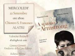 """Presentazione del libro """"A spasso con Armstrong"""""""