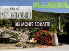 Visita al Bunker antiatomico del Monte Soratte
